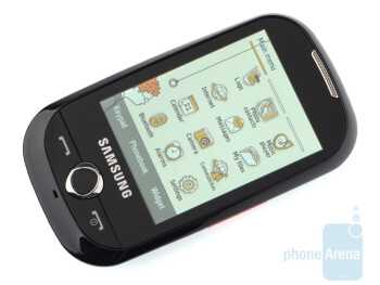 As a whole, the Samsung Corby S3650 stakes on motley colours - Samsung Corby S3650 Review