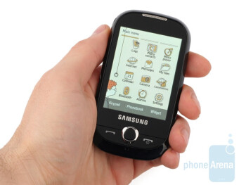 The Samsung Corby S3650 is a likeable and compact model - Samsung Corby S3650 Review