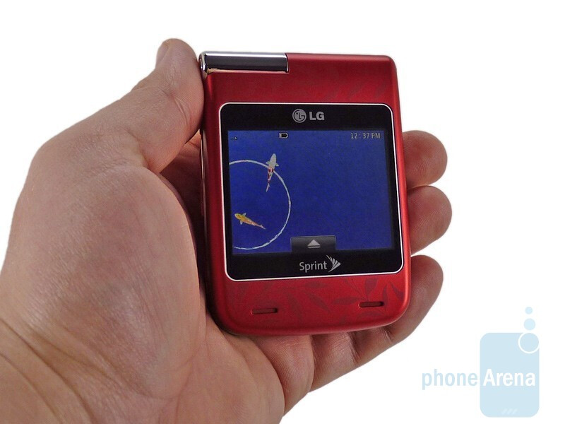 The LG Lotus Elite feels very well constructed - LG Lotus Elite Review