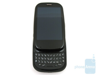 The Palm Pre Plus features a 4-row QWERTY keyboard - Palm Pre Plus Review
