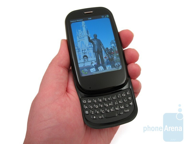 The overall plastic construction of the Palm Pre Plus is smooth and pleasing to the touch - Palm Pre Plus Review