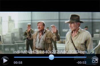Video playback - Palm Pre Plus Review