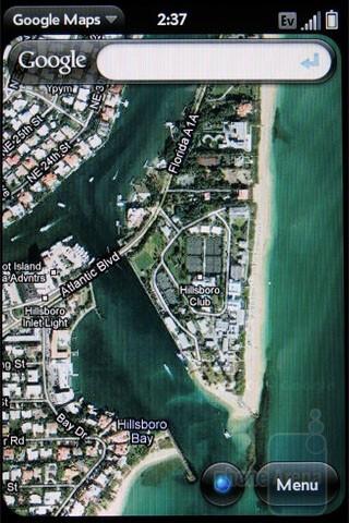 Google Maps app - Palm Pre Plus Review