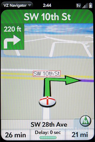 VZ Navigator - Palm Pre Plus Review