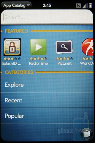 App Catalog - Palm Pre Plus Review