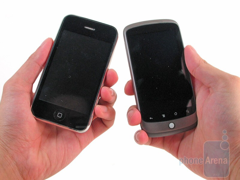 Apple iPhone 3GS and HTC Nexus One: side by side
