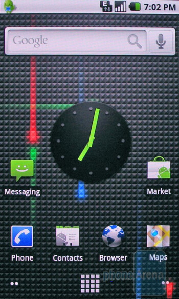 The HTC Nexus One features Live wallpapers - Apple iPhone 3GS and HTC Nexus One: side by side