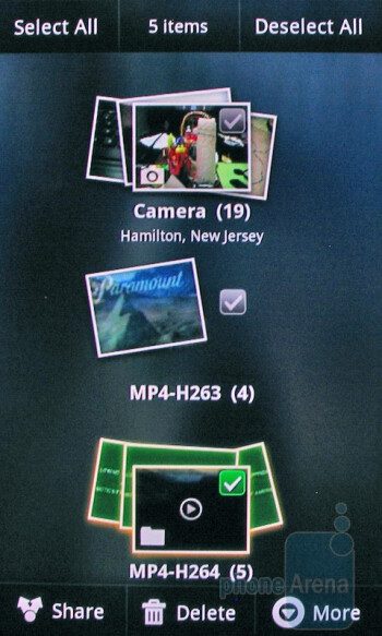 3D Gallery - HTC Nexus One - Apple iPhone 3GS and HTC Nexus One: side by side