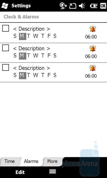 Alarm - Sony Ericsson Xperia X2 Review