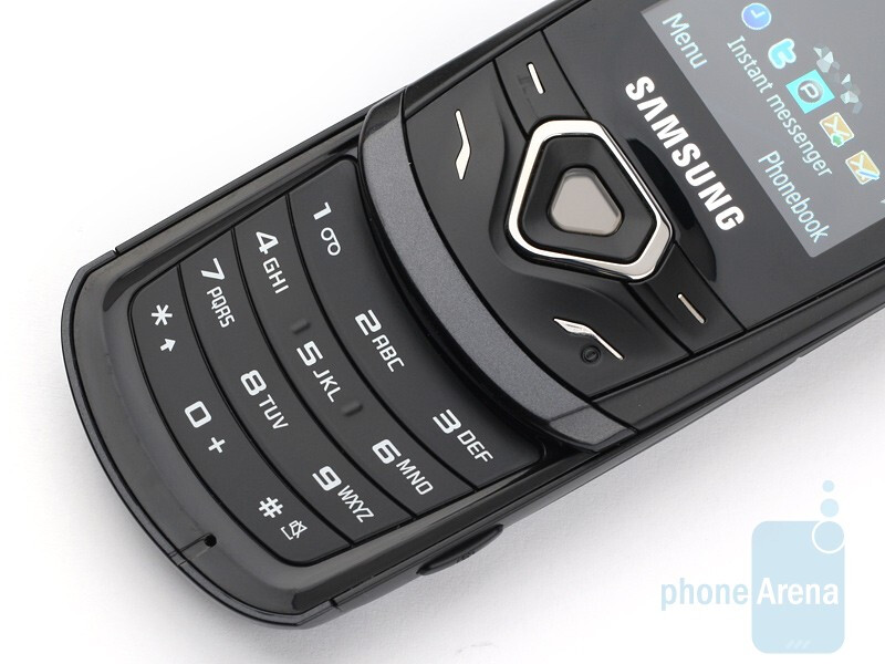The keys of the Samsung Shark 2 S5550are more than usable - Samsung Shark 2 S5550 Review