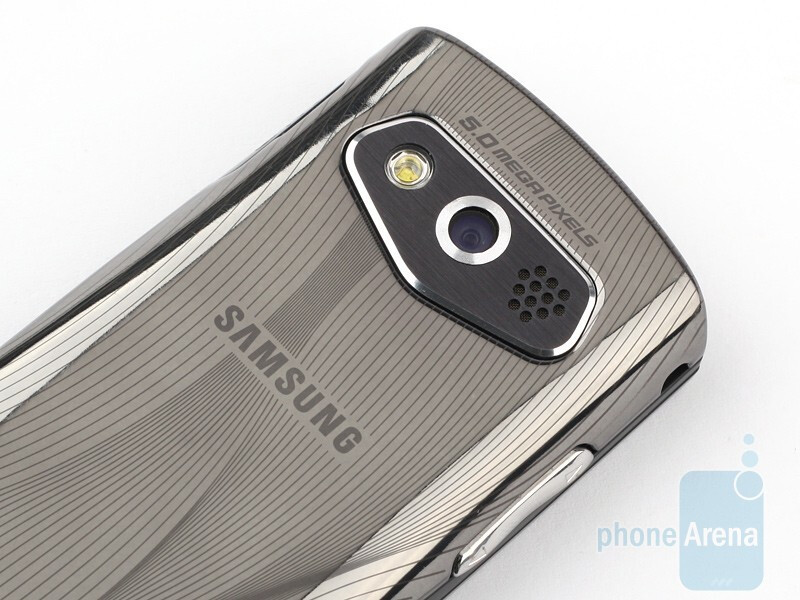 The 5MP camera - Samsung Shark 2 S5550 Review
