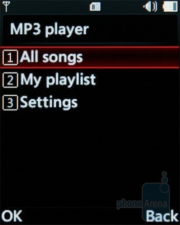 Music player - LG GM205 Review