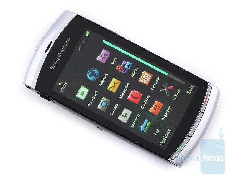 The display comes with native resolutionof 360x640 pixels - Sony Ericsson Vivaz Preview
