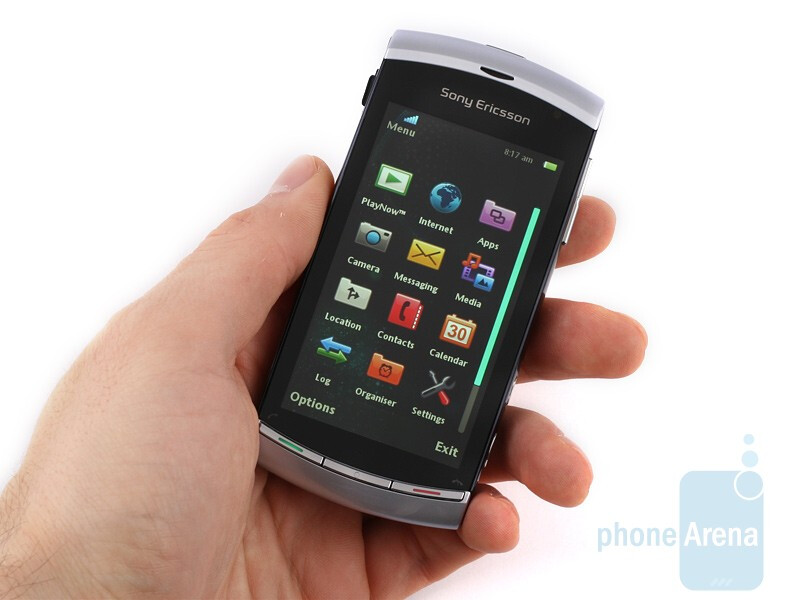 The outer appearance of the Sony Ericsson Vivaz remains true to the overall style introduced by the Xperia X10&nbsp - Sony Ericsson Vivaz Preview