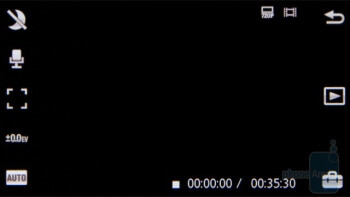 Camera interface - Sony Ericsson Vivaz Preview
