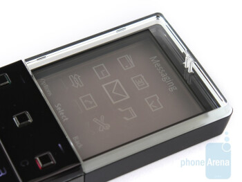 Probably the first thing that strikes you is the display - Sony Ericsson Xperia Pureness X5 Review