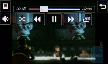 Video player - LG Cookie Plus GS500 Preview