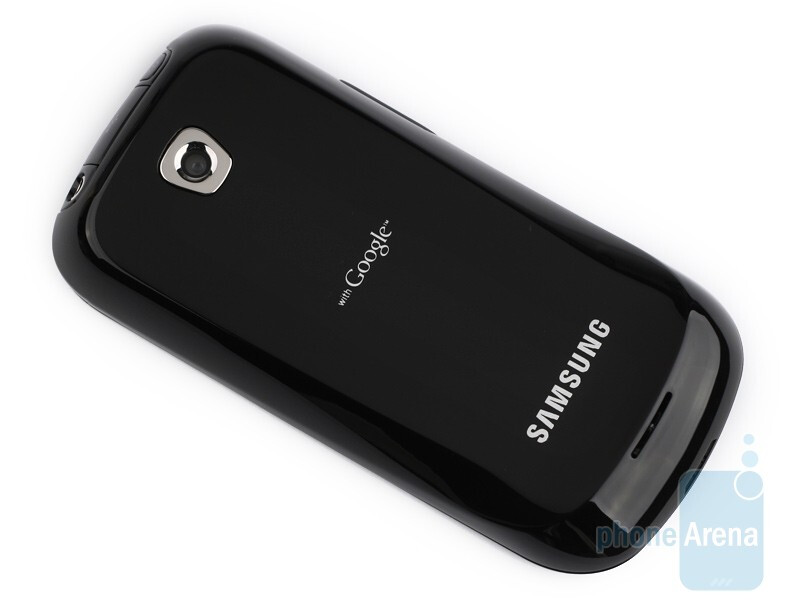 The Samsung Galaxy 3 I5800 comes with simple, yet elegant shapes - Samsung Galaxy 3 I5800 Preview