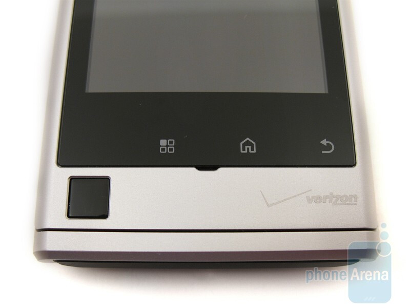Optical d-pad - Motorola DEVOUR A555 Review