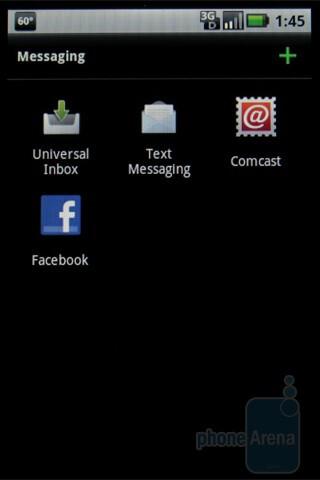 Messaging - Motorola DEVOUR A555 Review