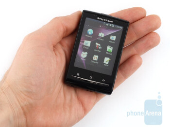 The Sony Ericsson Xperia X10 mini is a shrunken down version of the Xperia X10 - Sony Ericsson Xperia X10 mini Preview