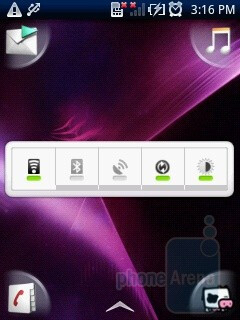 Sony Ericsson has used the UX interface in the Sony Ericsson Xperia X10 mini - Sony Ericsson Xperia X10 mini Preview