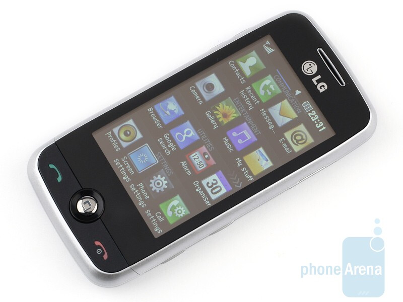 The 3 inch display - LG Cookie Fresh GS290 Preview