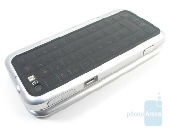 The QWERTY keyboard dominates the faceof the entire back portion on the Motorola BACKFLIP  - Motorola BACKFLIP Review
