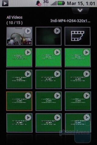 Gallery - Motorola BACKFLIP Review