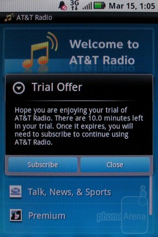 AT&T apps - Motorola BACKFLIP Review