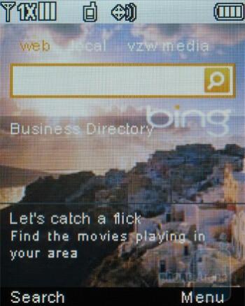 Microsoft Bing search - LG Accolade VX5600 Review