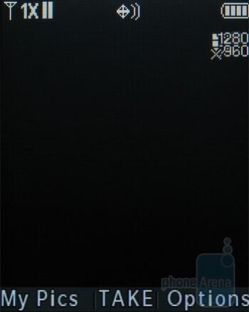 Camera interface - LG Accolade VX5600 Review