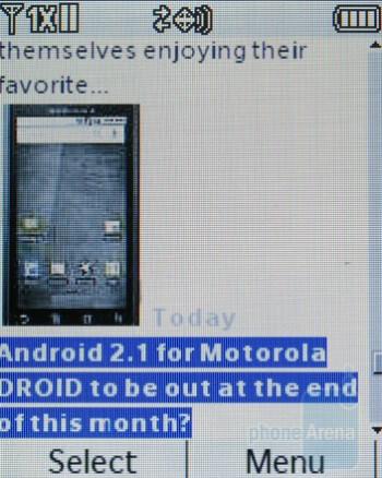 Mobile Web 2.0 - LG Accolade VX5600 Review