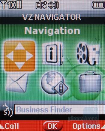 VZ Navigator - LG Accolade VX5600 Review