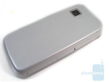 The back of the Nokia Nuron 5230 - Nokia Nuron 5230 Review