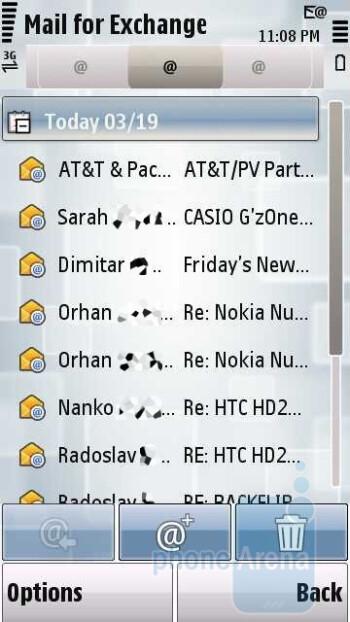 Messaging - Nokia Nuron 5230 Review