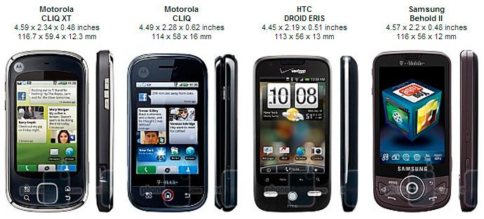 Motorola CLIQ XT Review
