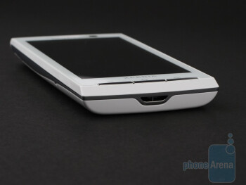 The sides of the Sony Ericsson Xperia X10 - Sony Ericsson Xperia X10 Review