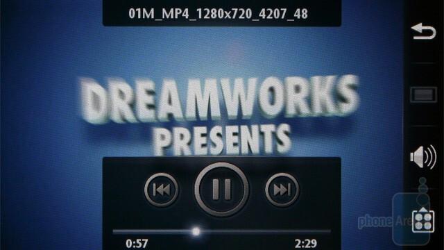 Video playback - Sony Ericsson Vivaz Review