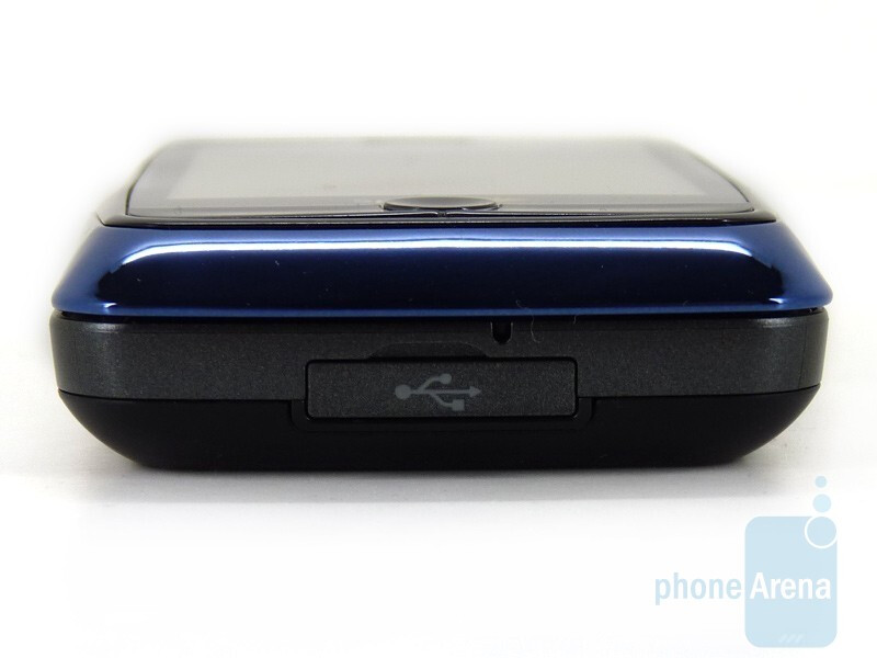 The sides of the LG Rumor Touch - LG Rumor Touch Review