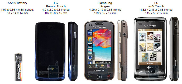 LG Rumor Touch Review