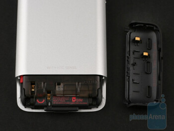 HTC have found a way to enable you to replace the battery easily,while managing to keep the monolithic overall look of the device unspoiled - HTC Legend Review