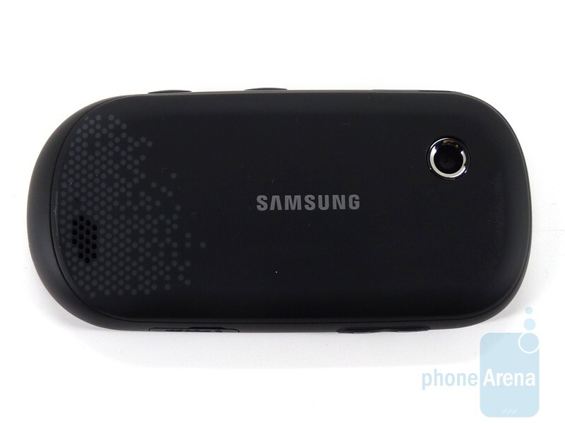 The sides of the Samsung Sunburst A697 - Samsung Sunburst A697 Review
