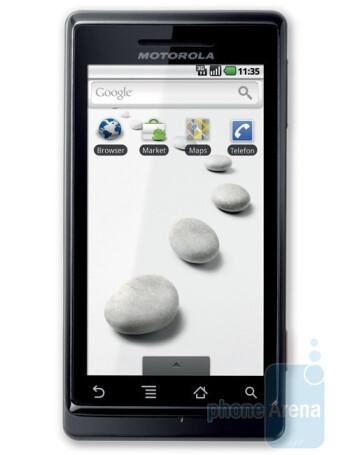 Motorola MILESTONE - HTC Legend Review