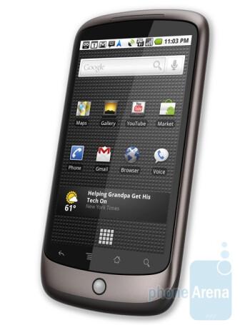 Google Nexus One - HTC Legend Review