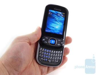 The Samsung Strive A687 is a portrait slider - Samsung Strive A687 Review