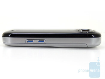 The sides of the Samsung Strive A687 - Samsung Strive A687 Review
