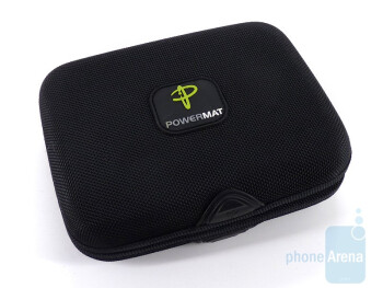 The Powermat comes with a magnetic carry pouch - Powermat Portable Mat Review
