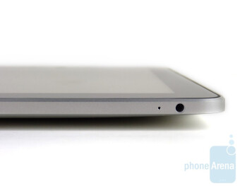 The sides of the Apple iPad - Apple iPad Review