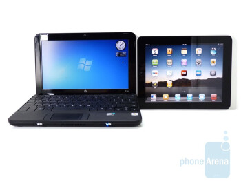 Next to HP Mini 10 - Apple iPad Review